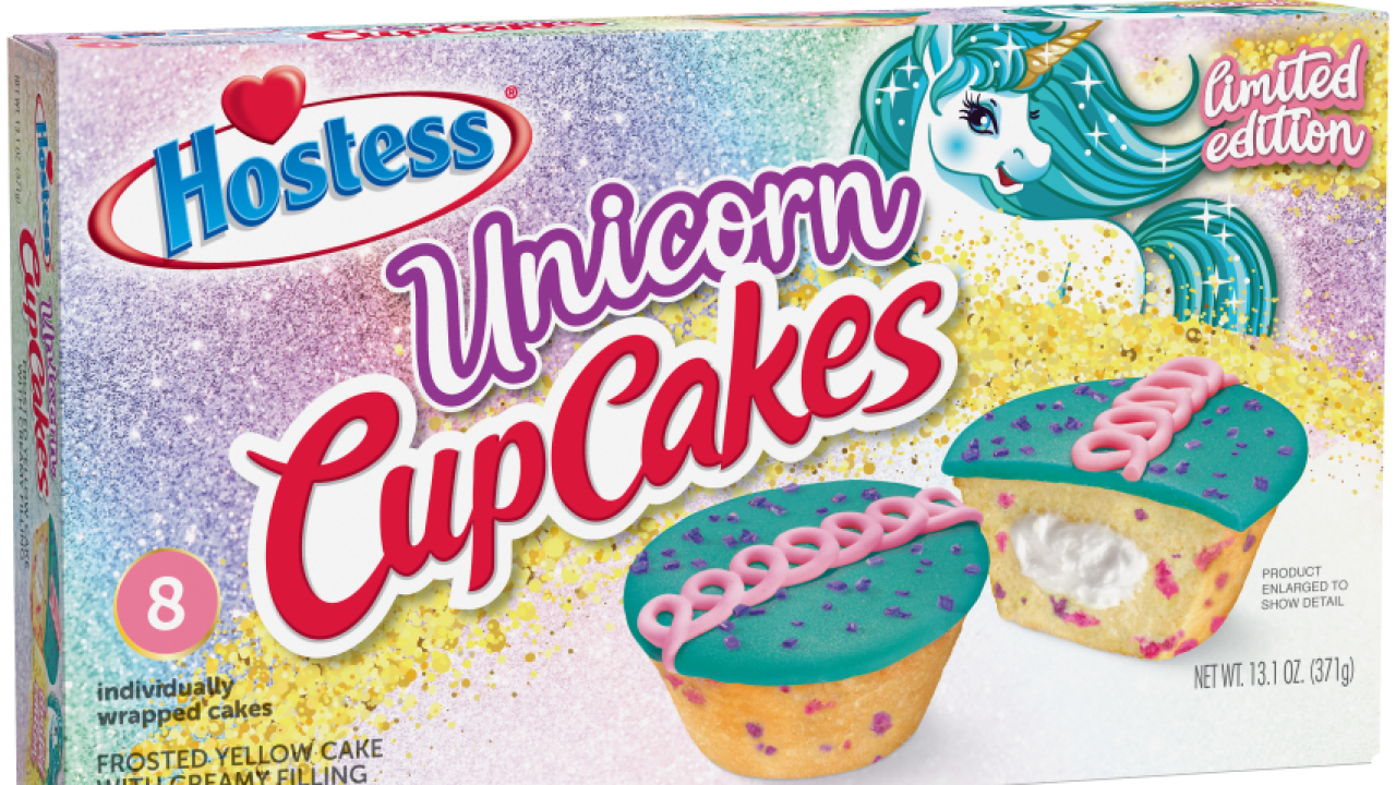 Add a little sparkle to your life with unicorn cupcakes