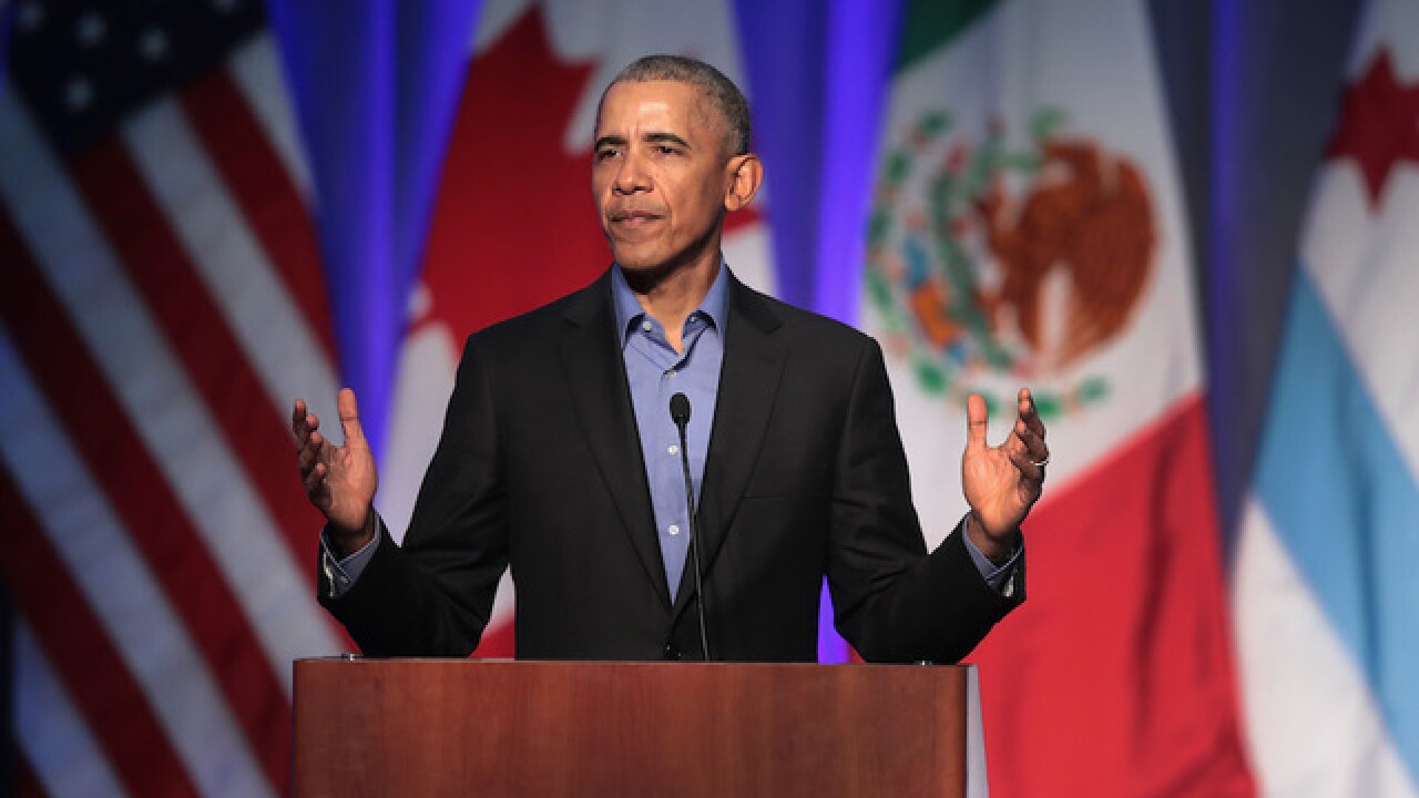 Obama to hold Ind. rally between Trump visits