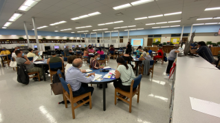 The English for Speakers of Other Languages (ESOL) program at the Jefferson Adult and Community School.