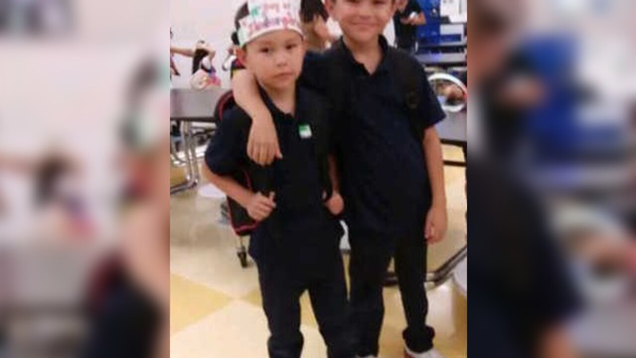AMBER ALERT: 5-year-old and 8-year-old missing