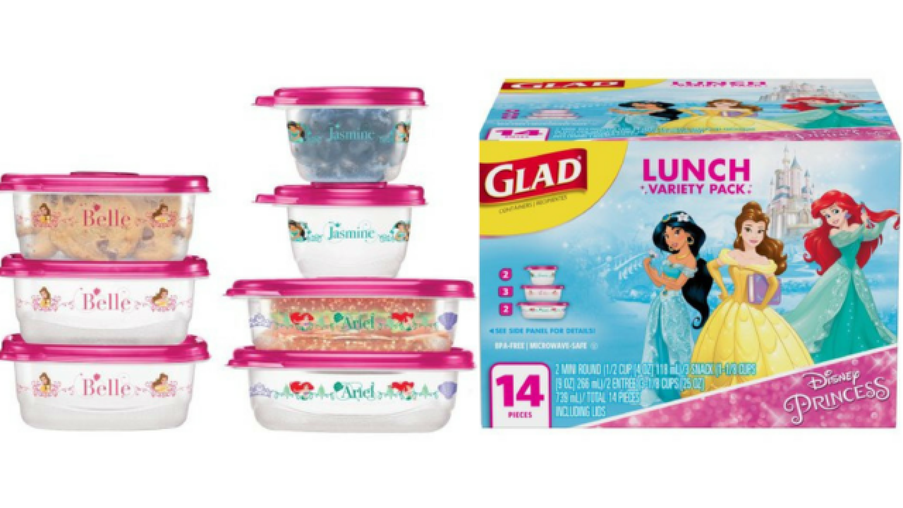 Disney food storage containers are just $3.98 at Walmart