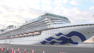 Cruise ship quarantined in Japan
