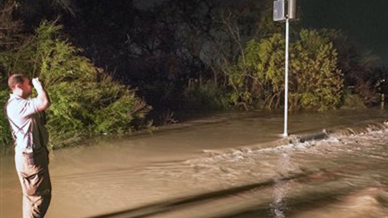 Three dead in Texas floods