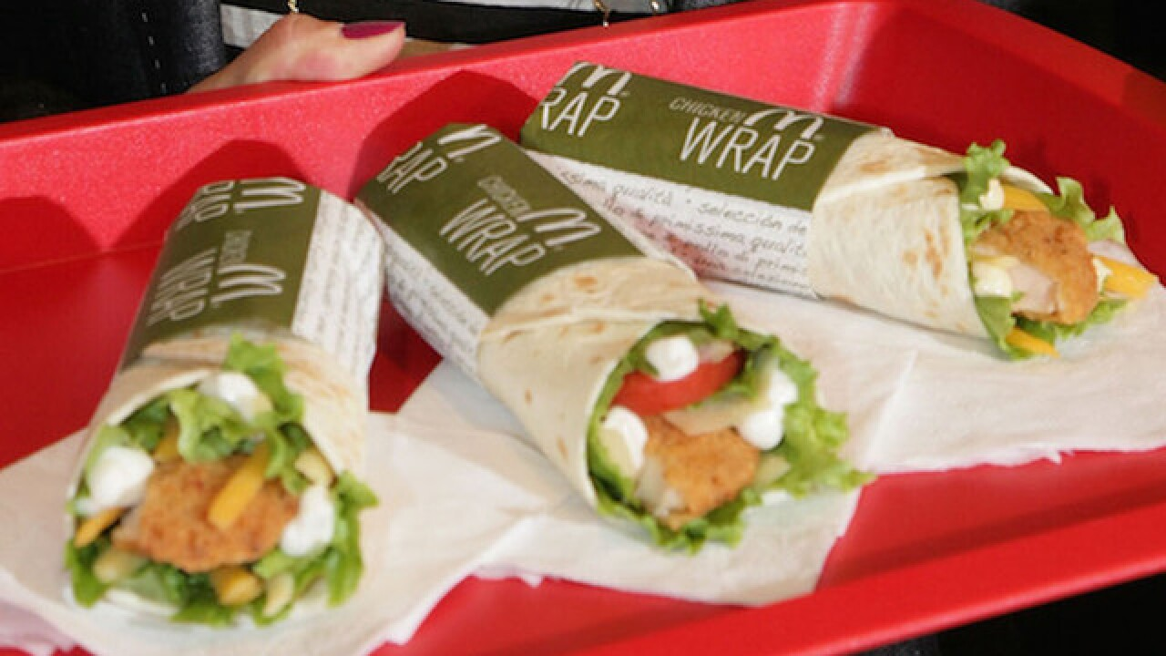 McDonald's gets rid of wraps