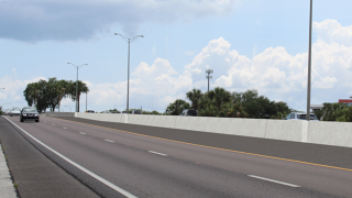 concrete barrier for Selmon Expressway