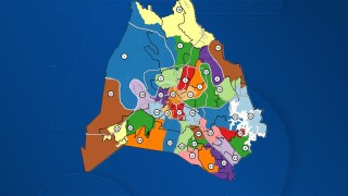 Metro officials release initial draft of redistricting map