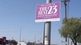 The Best 23 Miles of Mexican Food Sign