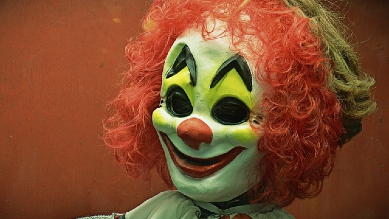 Post with clown photo threatens Brown County schools