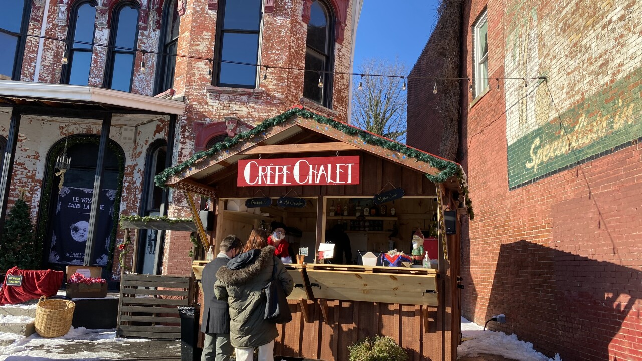 Customers say Coco Bar and Bistro's Crepe Chalet is a hit