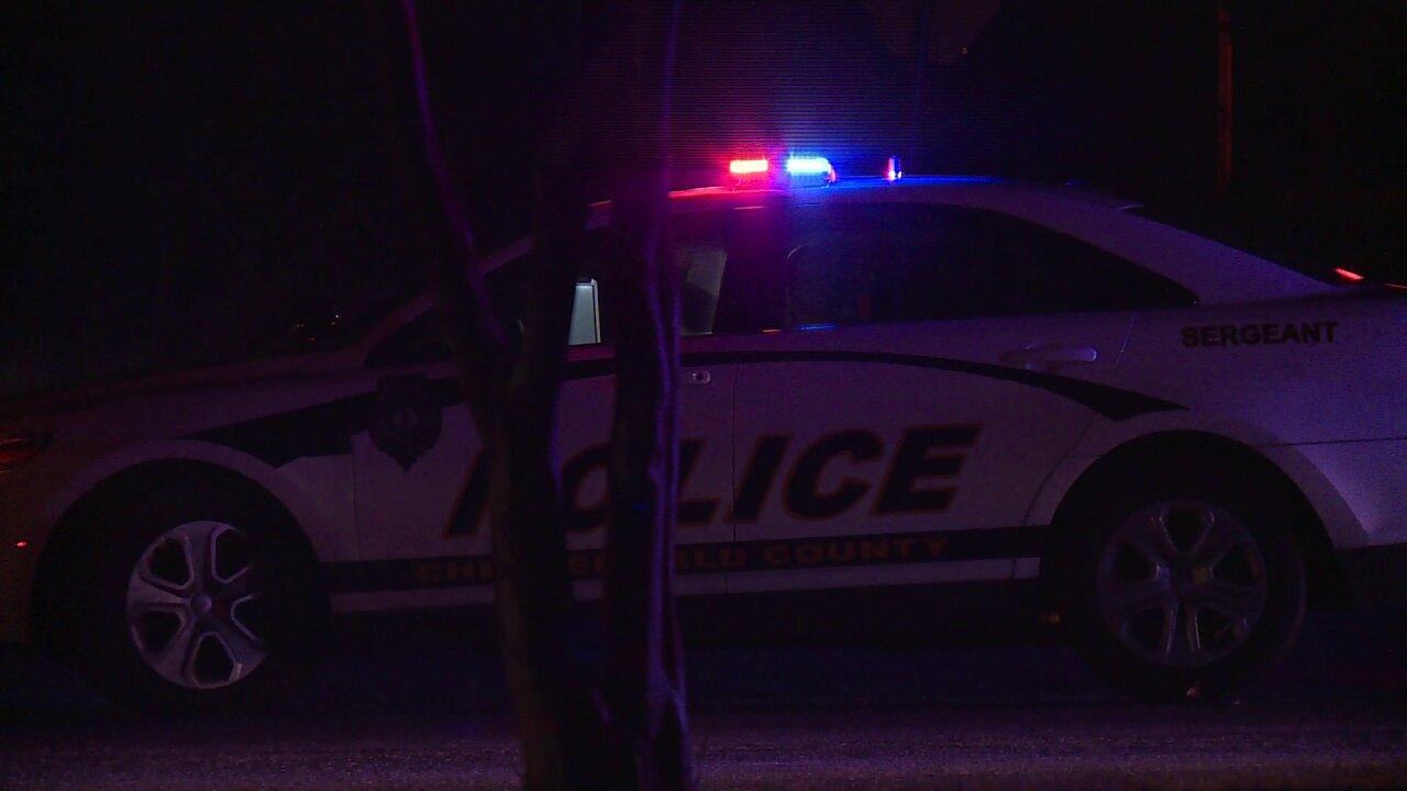 Woman killed walking near Chesterfieldhome