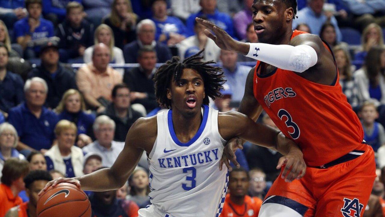 Kentucky's Tyrese Maxey