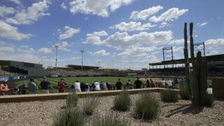 AP Photo - Spring Training Salt River Fields at Talking Stick