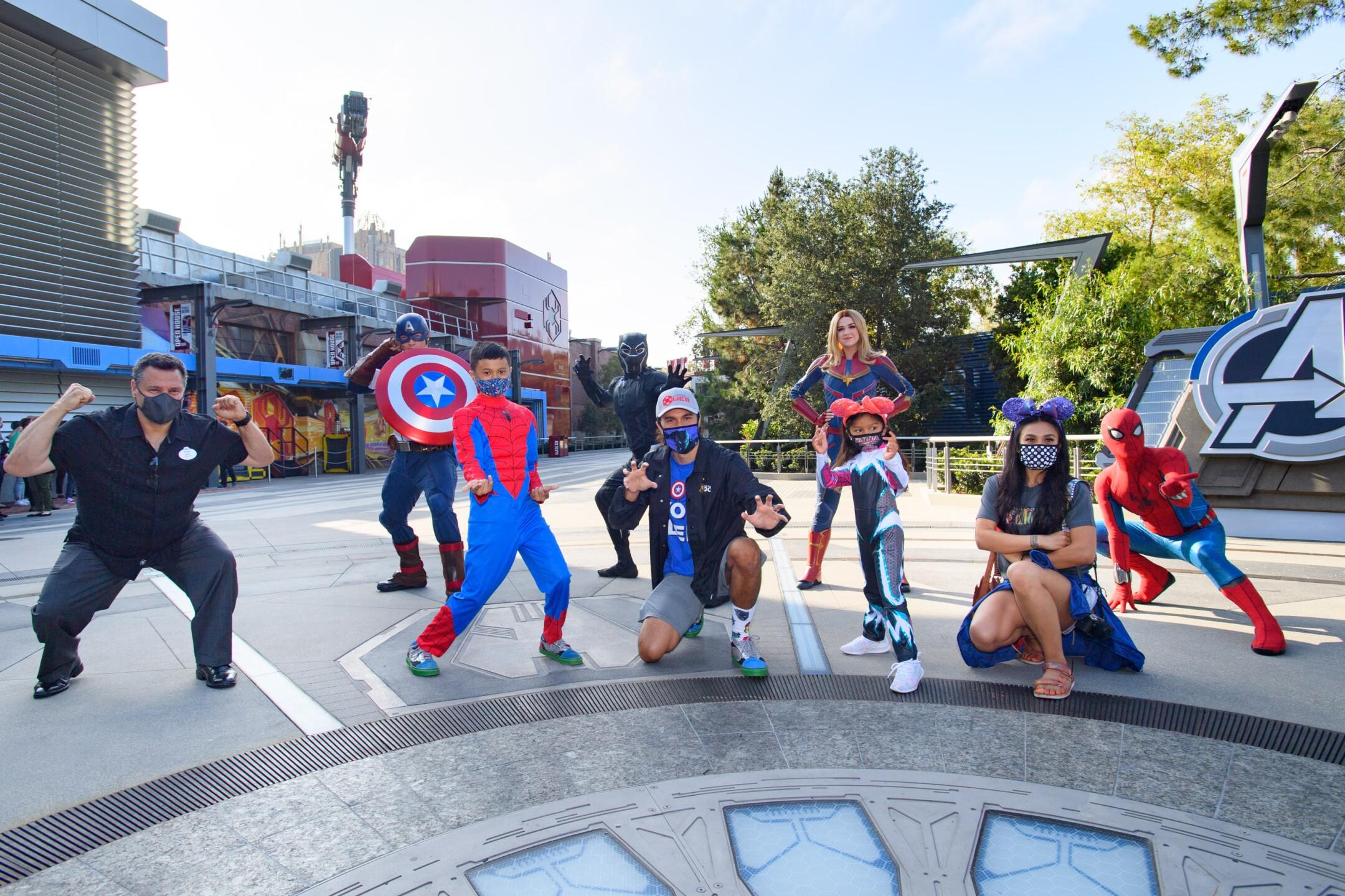Ken Potrock, President of Disneyland Resort, Welcomes First Guests to Avengers Campus at Disney California Adventure Park
