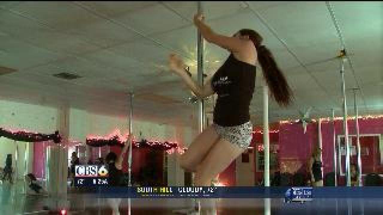 Pole dancing could become an Olympic sport?