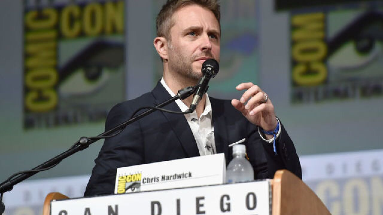 Music festival pulls comedian Chris Hardwick following abuse allegations
