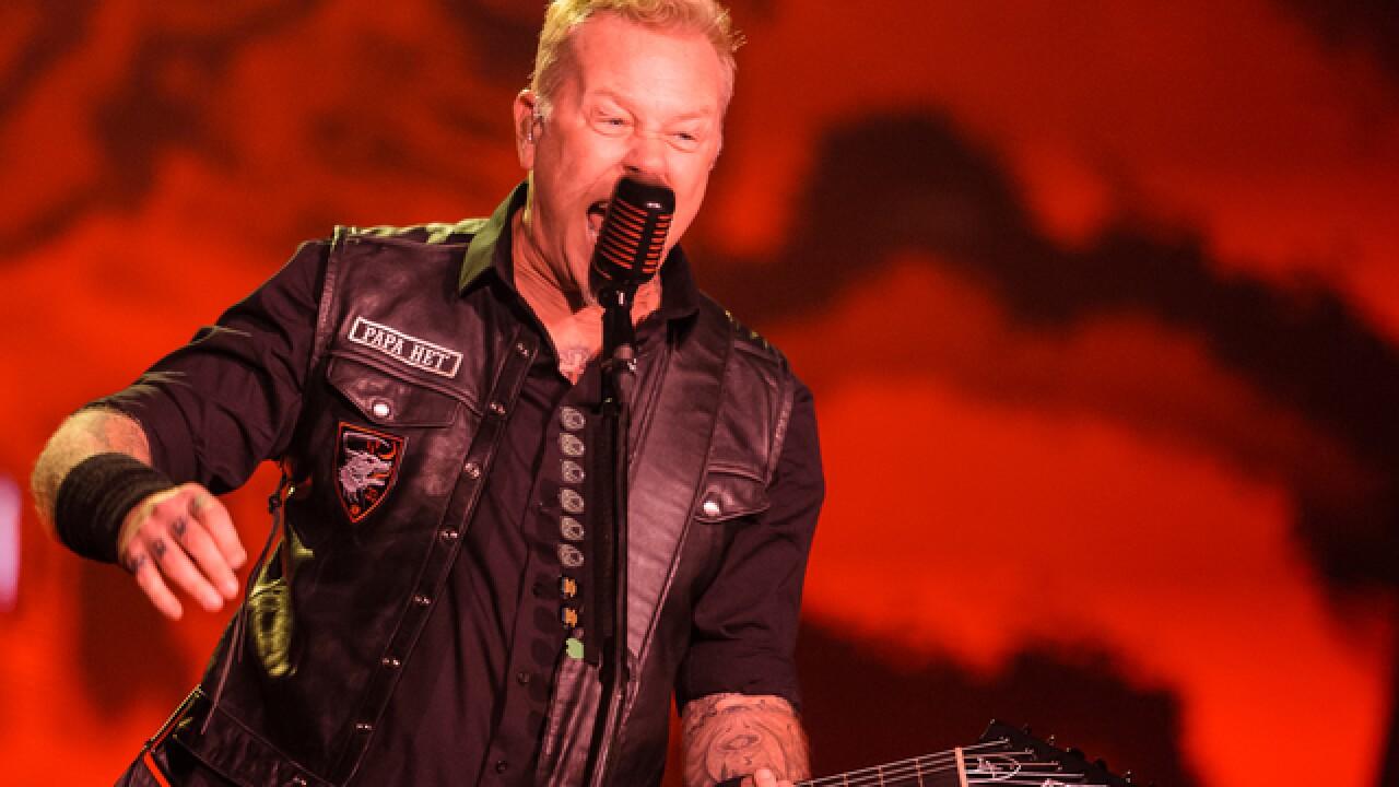 Metallica schedules October show in Milwaukee