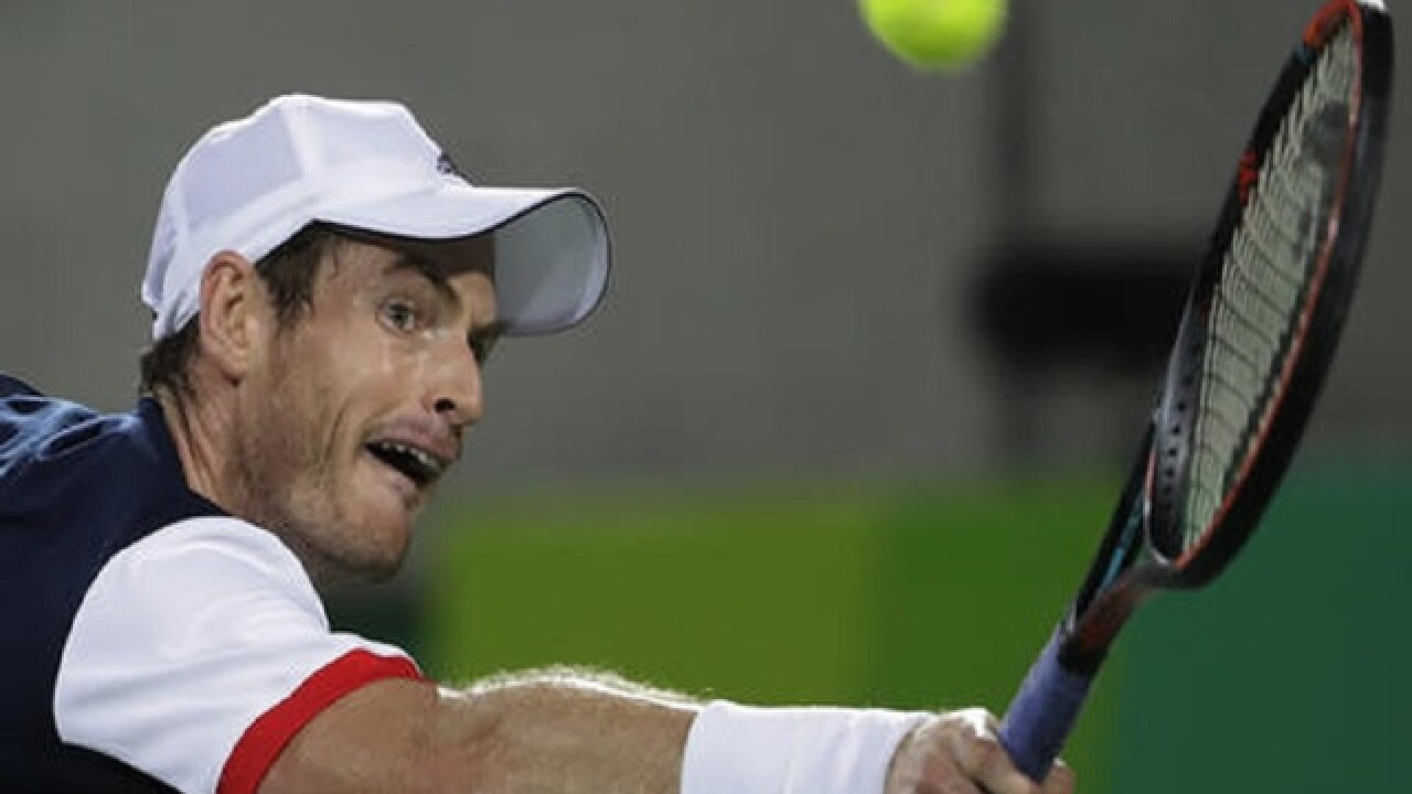 Andy Murray is first to win 2 Olympic tennis singles golds