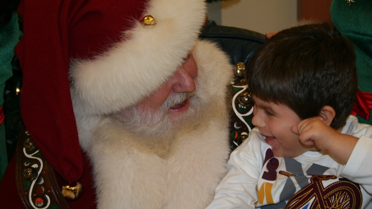 Photos: Santa stops by St. Mary's Home in Norfolk