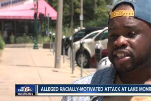 Alleged racially-motivated attack at Lake Monroe