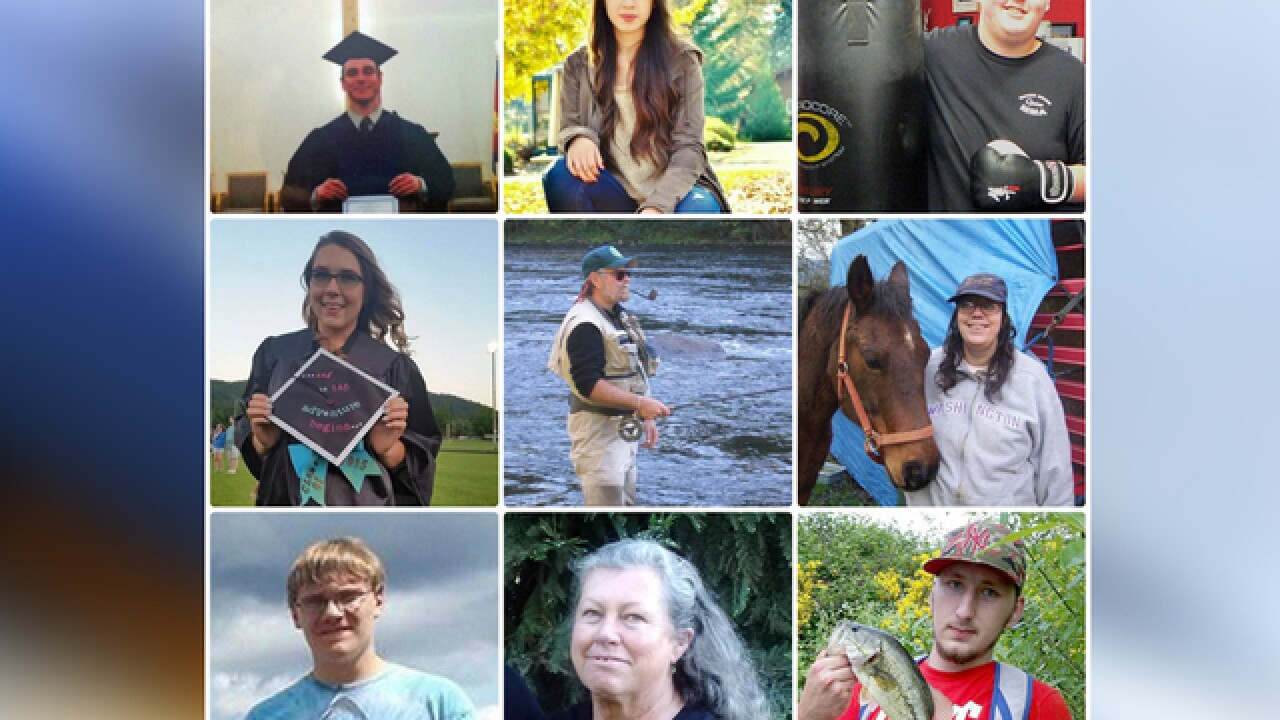 Victims of Oregon's mass shooting identified