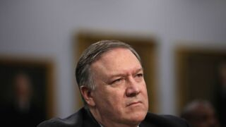 Pompeo scorns reporter for asking about Ukraine