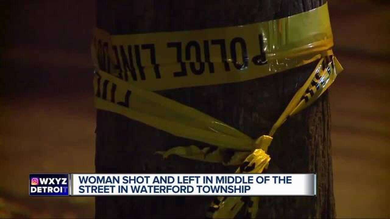 Woman shot, killed in Waterford Township