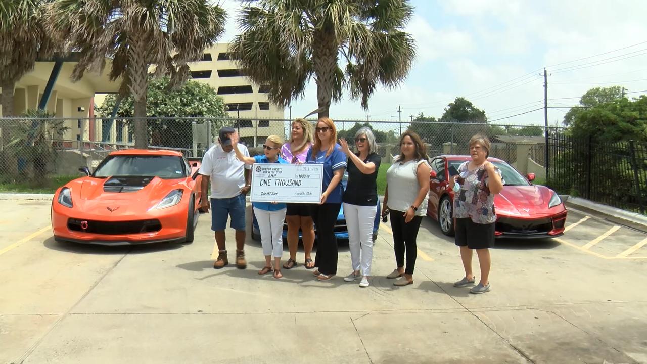 Corvette club donation.PNG