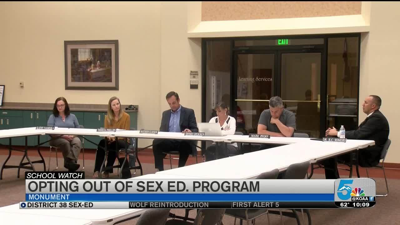 District 38 opting out of sex ed curriculum