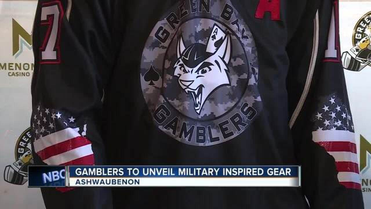 Green Bay Gamblers unveil Military Night jerseys