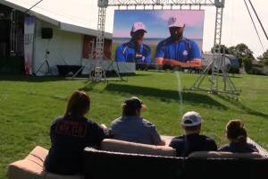 Watch parties offer Ryder Cup atmosphere