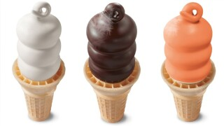 Free ice cream cones at Dairy Queen on Friday, June 21