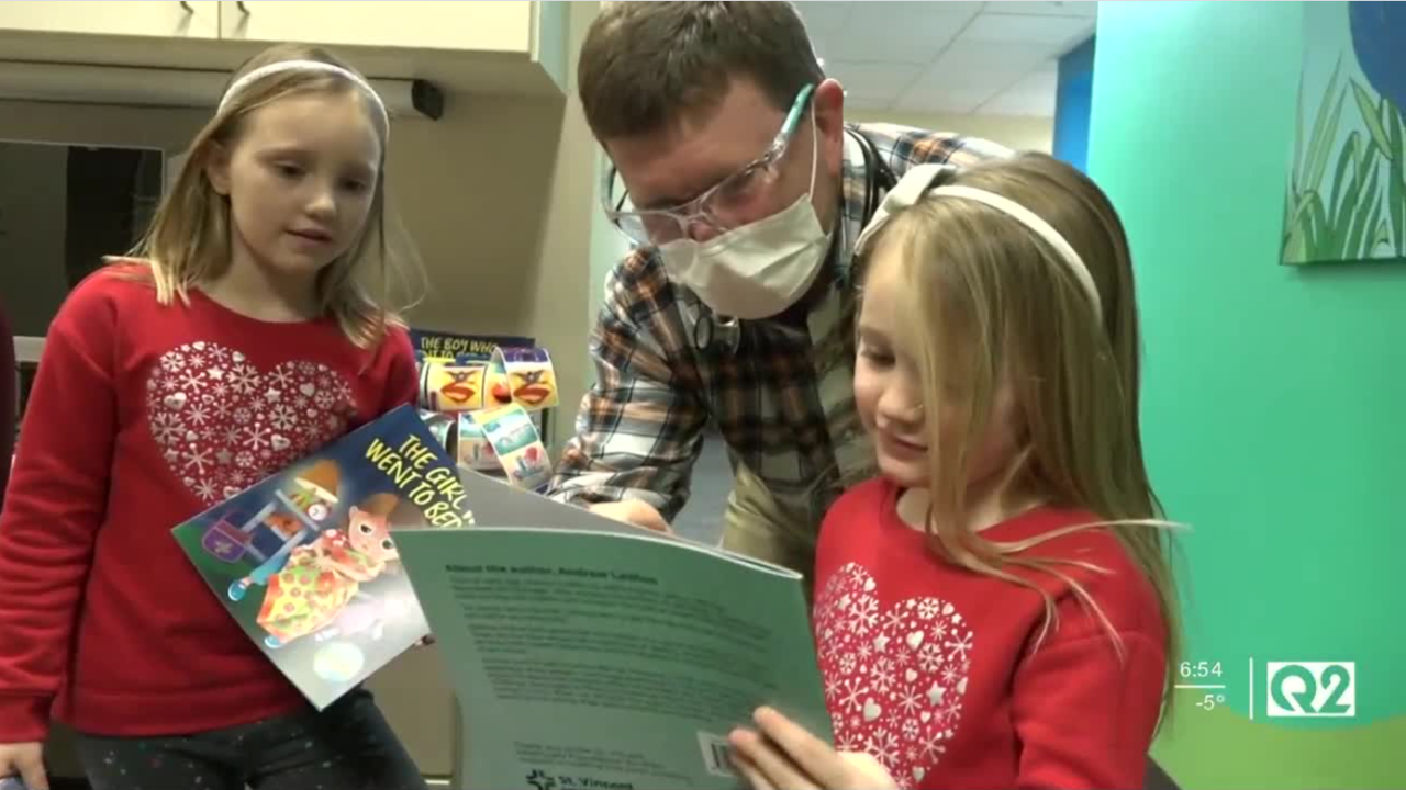Billings doctor writes bedtime story for pediatric patients