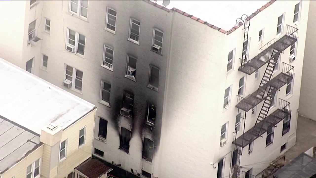 5 injured in Brooklyn apartment fire