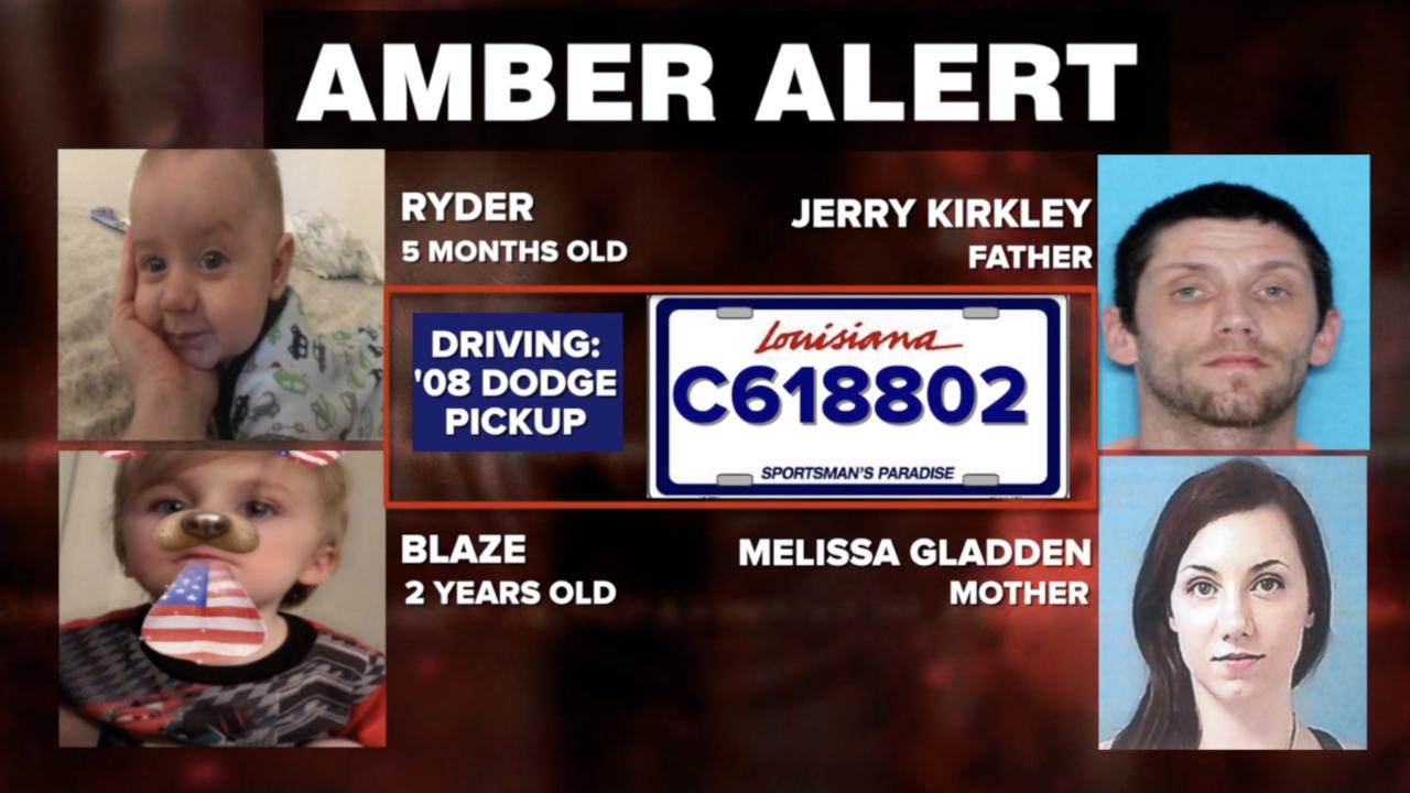 AMBER Alert for 2 kids taken from DCS custody