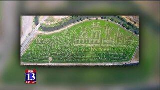 Corn maze design honors unique location of historicranch