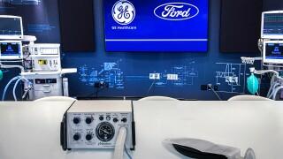 Ford GE Healthcare ventilator Model A-E w Simple Test Lung.jpg