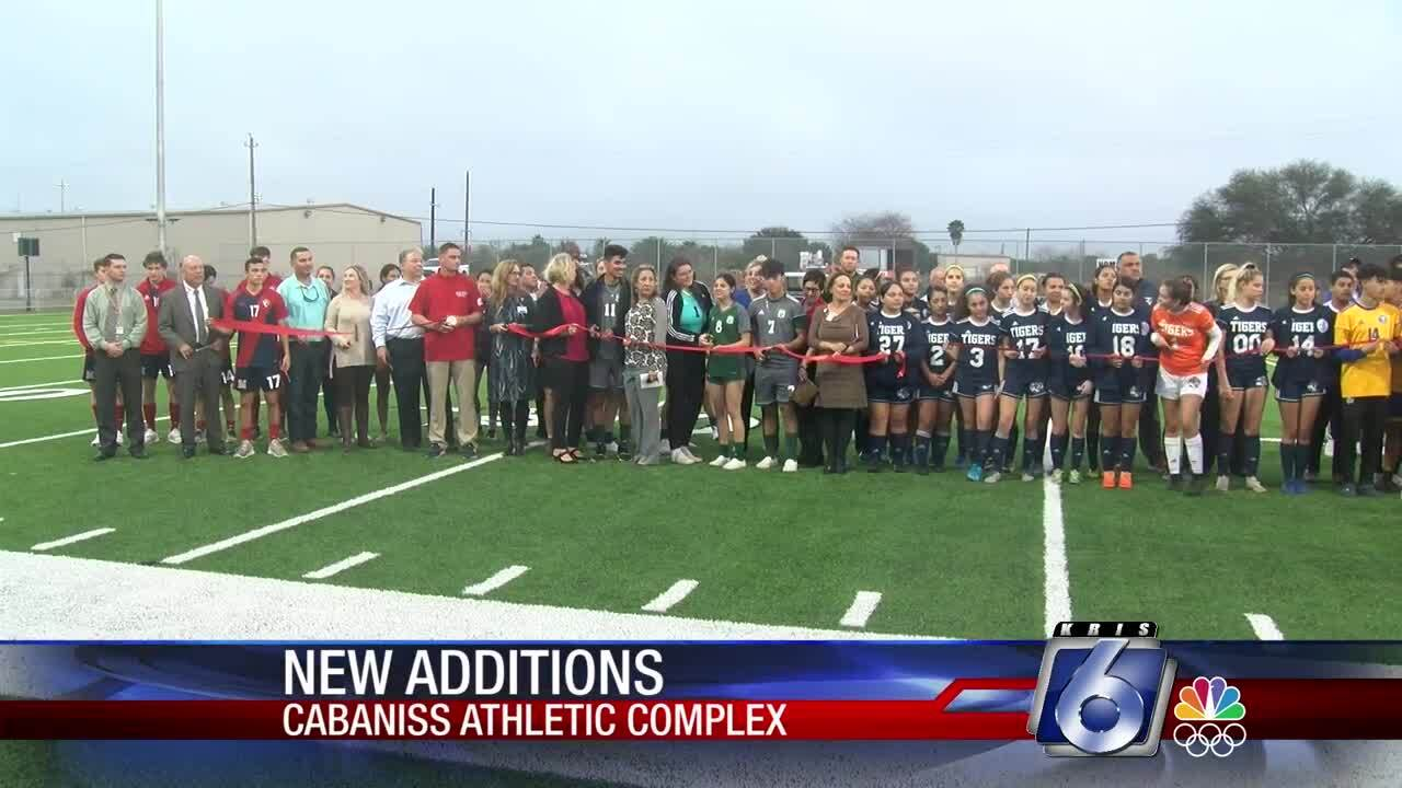 New Cabaniss Field artificial turf debuts next week