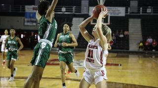 Cold Second Half Shooting Hands Lady Blazers Loss at Mississippi College