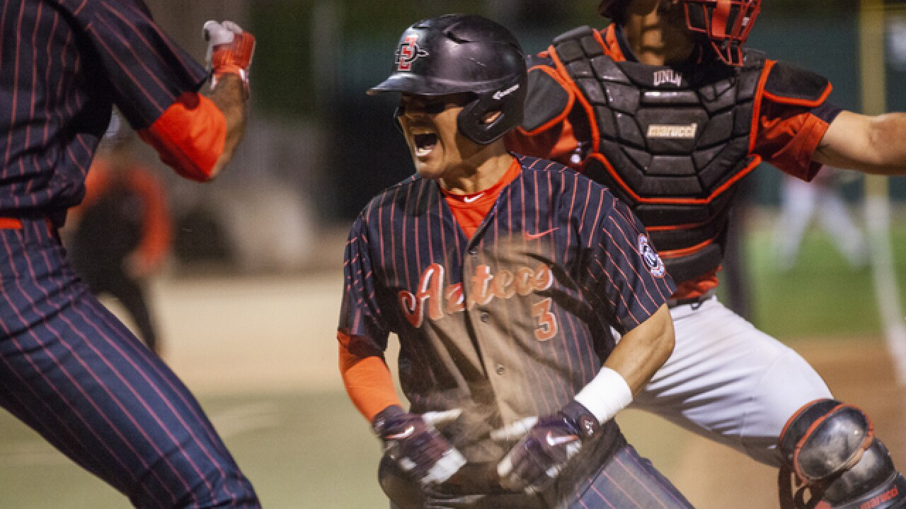SDSU headed to MW tournament championship after walk-off 4-3 victory over UNLV