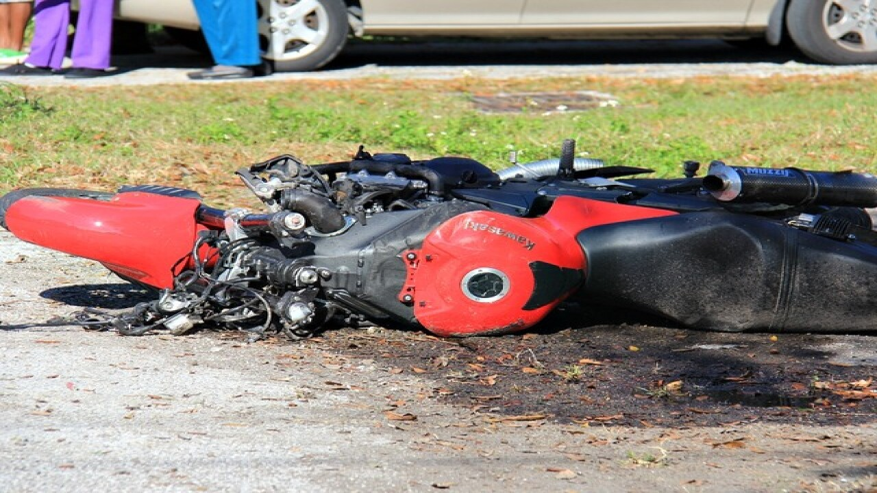 FL leads nation in motorcycle crash fatalities