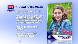 Student Of The Week: MaKayla O'Neil