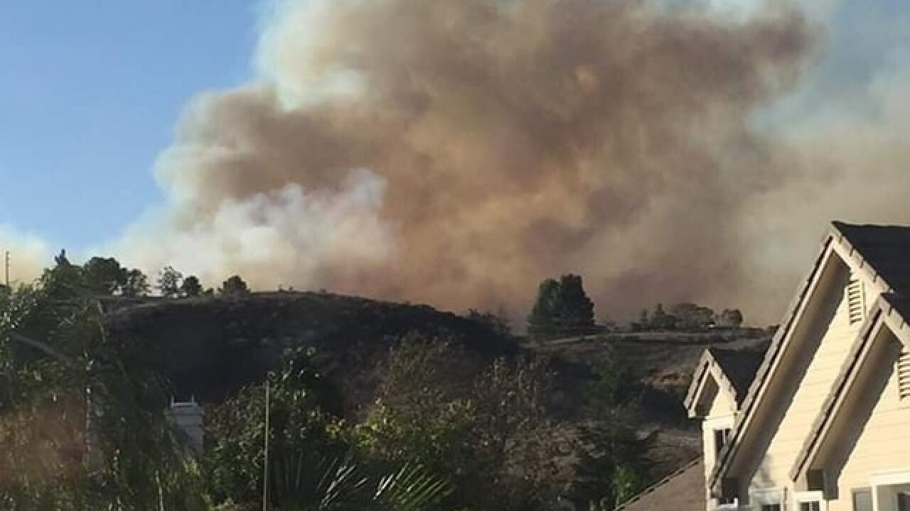 Locals impacted by California wildfires