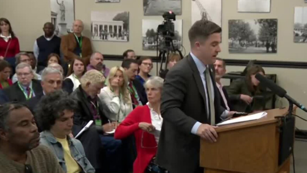 Future of Church St. Park discussed in public hearing