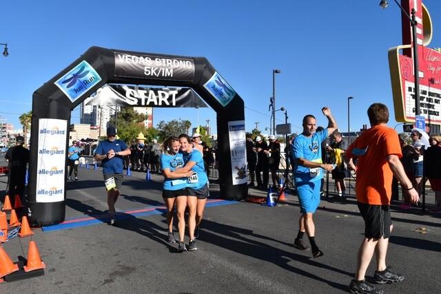 PHOTOS: 2nd Vegas Strong 5K/1-Mile Walk in Downtown Las Vegas