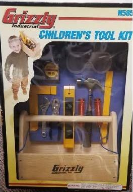 Grizzly Industrial Children's Tool Kit 2