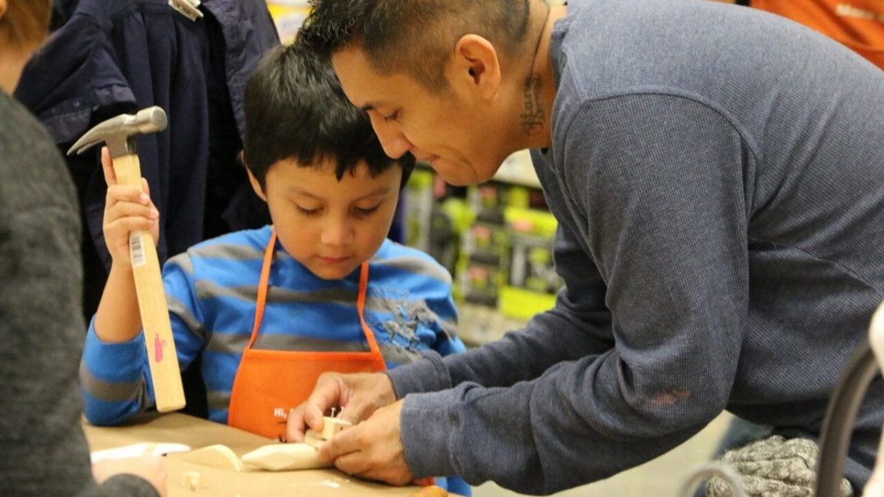 Kids can make their own binoculars at Home Depot's next free craft workshop