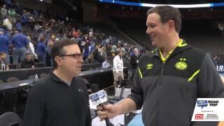 Matt talks with CBS announcer, IAN EAGLE!