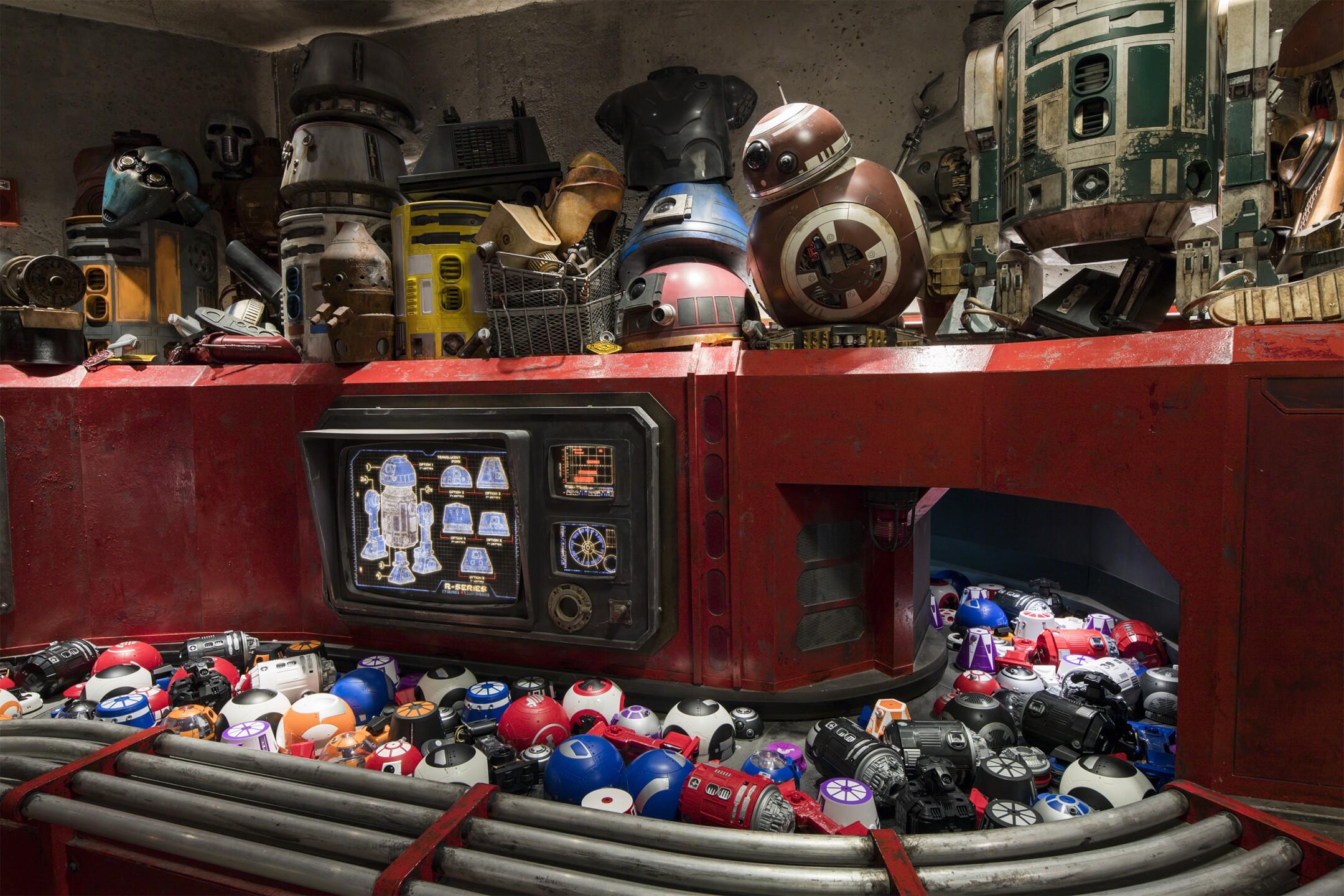 Droid Depot at Star Wars: Galaxy's Edge