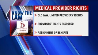 Know the Law – No Fault-Medical Providers Rights