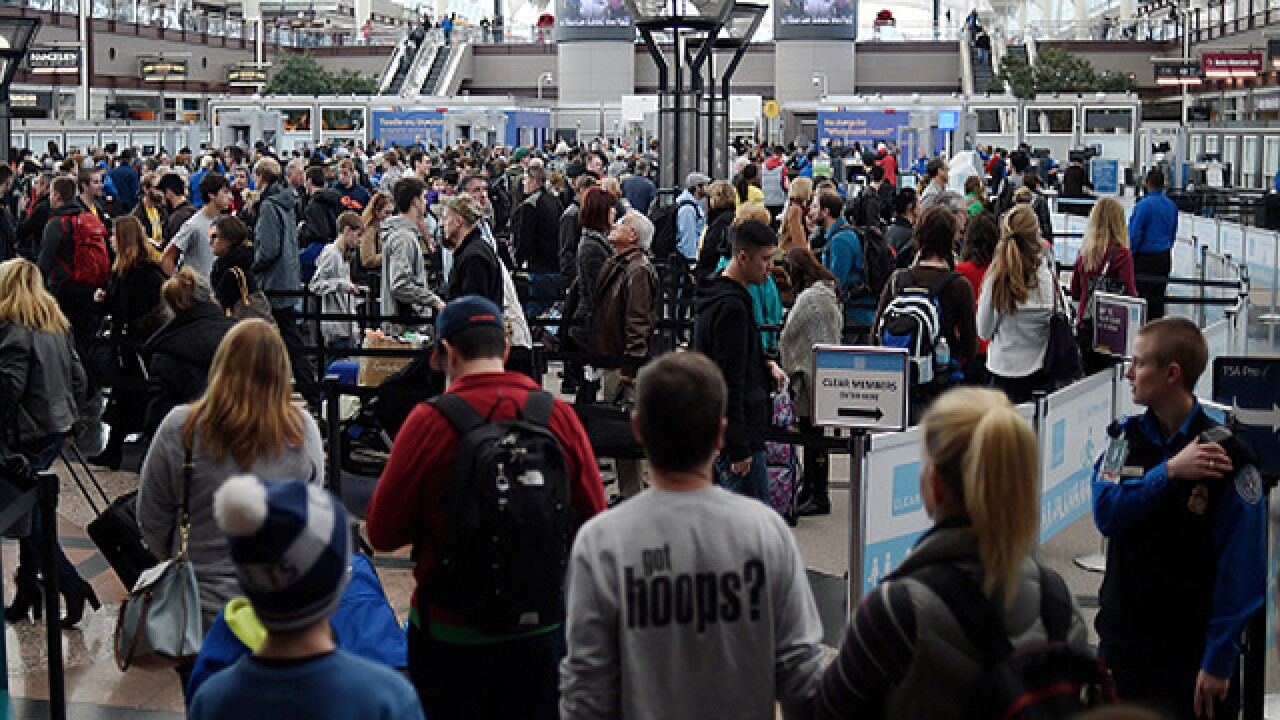 DIA hiring help to speed up airport security